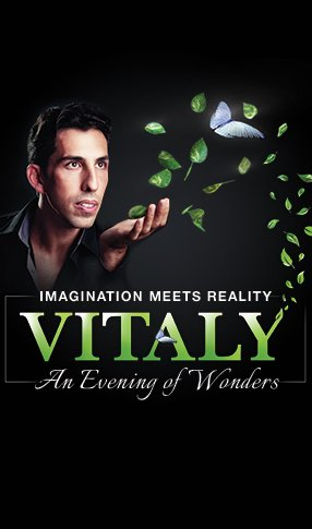 Vitaly: An Evening of Wonders