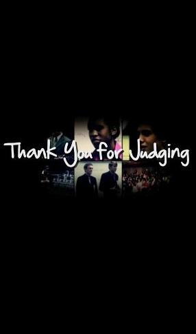 Thank You For Judging